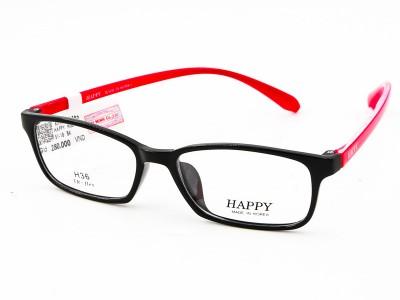 Gọng Kính HAPPY H22_52_17_BK.RED