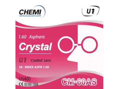 Crystal U1 coated CM-60AS