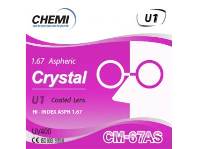 Crystal U1 coated CM-67AS